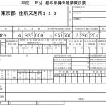 源泉徴収票の見方と所得税。還付金はどうすれば分かるのか?