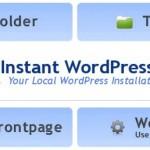 WordPressのローカル環境を5分で作成!Instant Wordpressを使ってカスタマイズ!