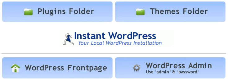 InstantWordPress