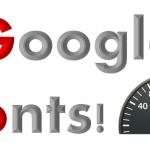 グーグルフォントは重いのか?使うと遅くなるのか表示スピードを検証!