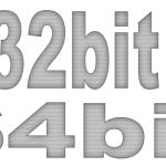 パソコンが32bit版か64bit版か簡単に調べる方法